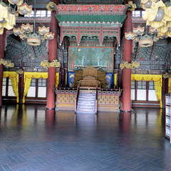 Changdeokgung Palace - Main Hall