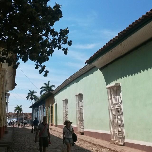 varjoisa katu, Trinidad, Kuuba