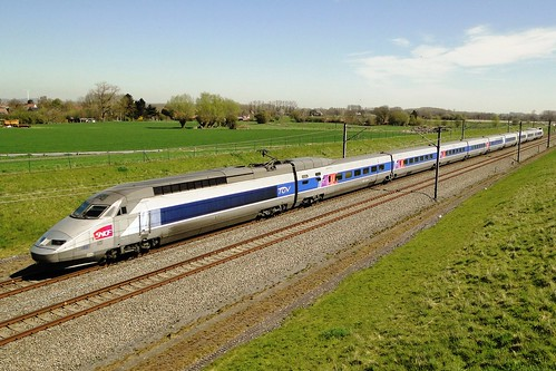 Belgian High Speed - TGV Réseau on its way to Brussels