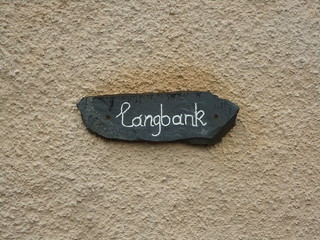 Langbank in Comrie