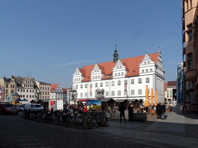 lutherstadt wittenberg markt mit rathaus flickr photo sharing. Black Bedroom Furniture Sets. Home Design Ideas