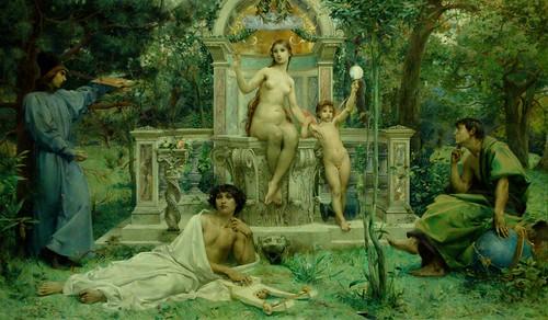 La vérité, Luc-Olivier Merson, 1901
