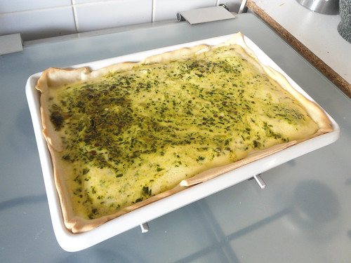 Spinach Masala Quiche