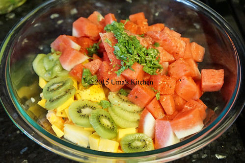 Summer mixed fruit salad 1