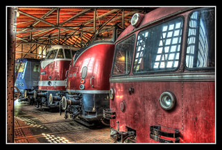 Berlin - Deutsches Technikmuseum Berlin - motive power depot 08