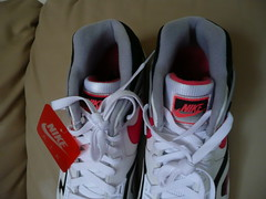 Nike Air Tech Challenge II 2 QS (white/hot lava-black-flt slvr) Size 11
