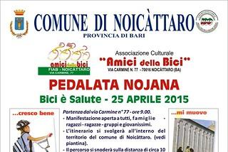 Noicattaro. Pedalata 2015 front