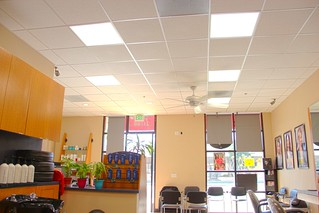Fantastic Sams salon LED Lighting