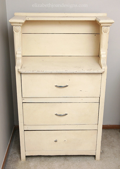 Old Dresser with Shelf