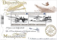 09 100 jaar eerste luchtpost blaadje