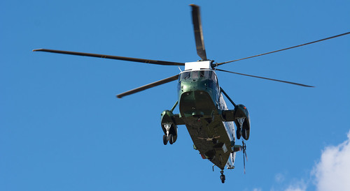 HMX-1 Departs the White House after dropping off POTUS on 3/30/2015