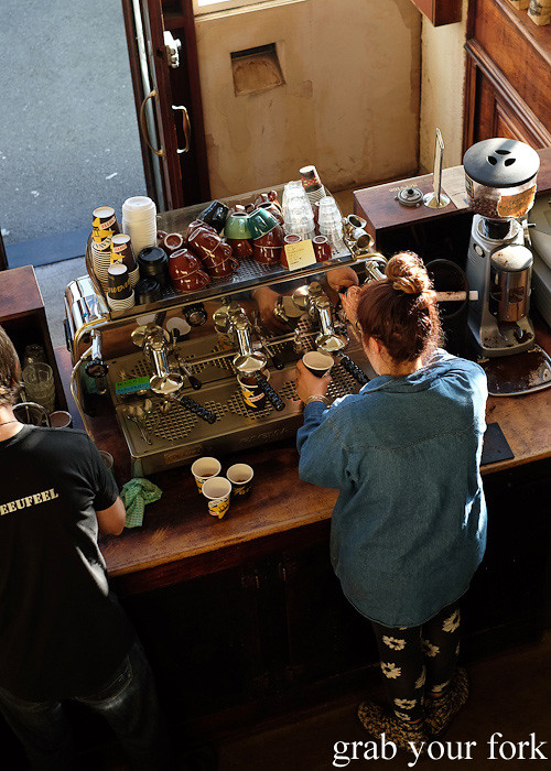 Barista at Havana Coffee Works, Wellington