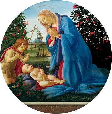 聖母子と洗礼者聖ヨハネ