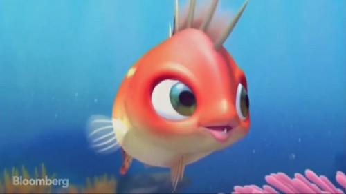 北朝鮮3Dアニメ魚