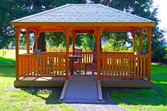 outdoor structure, pavilion, gazebo,