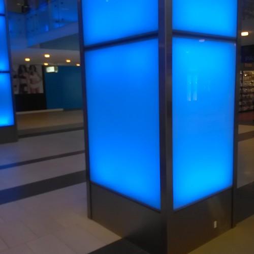 Pillar, Yonge Eglinton Centre #toronto #yongeandeglinton #architecture #blue