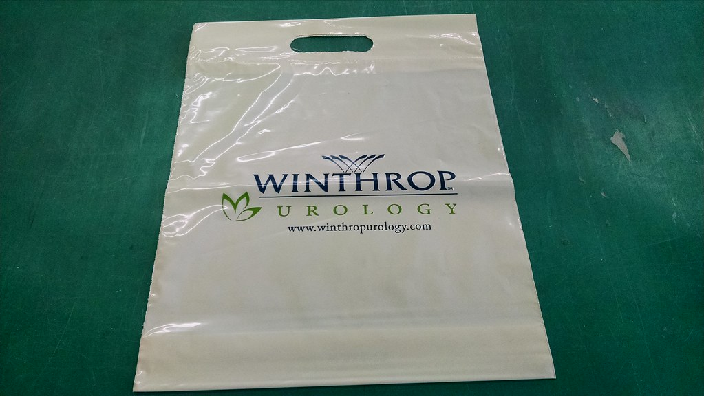 Winthrop Hospital Urology Plastic Bag | We created this plas… | Flickr