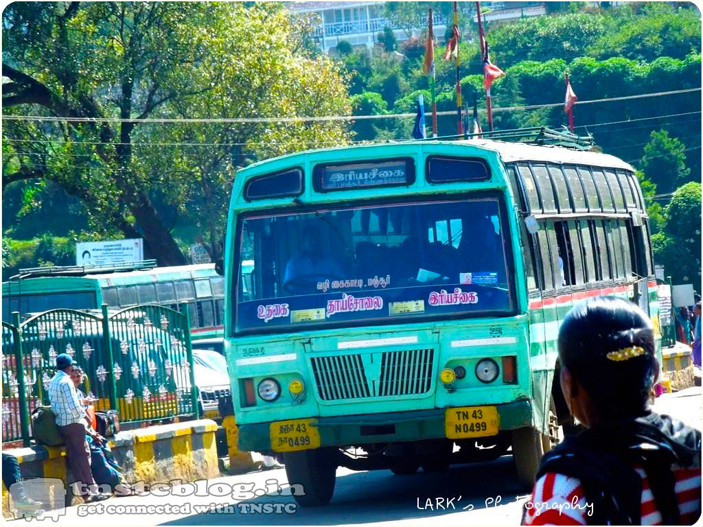 TN-43N-0499 Ooty - Hiriyassegai via Kaikatty, Manjoor, Thaisolai, Kinnakorai.