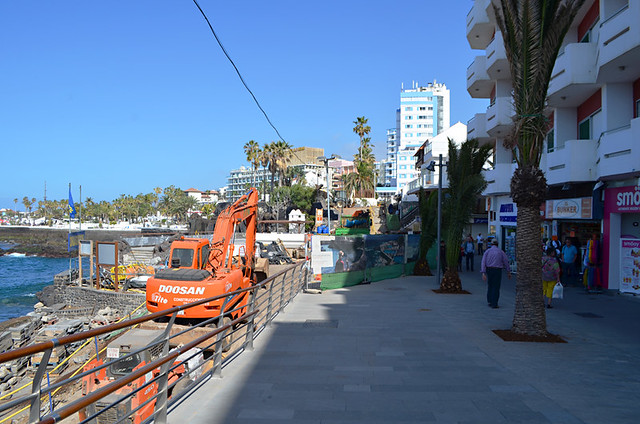 Not quite finished, San Telmo Promenade, Puerto de la Cruz, Tenerife