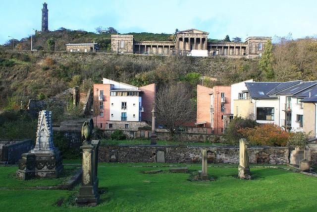 Calton Hill, Canongate Kirk, Royal Mile, Edinburgh, Scotland, fotoeins.com