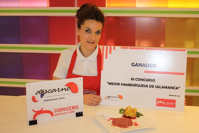Carnicería Pedro Rivas, ganador del concurso Mejor Hamburguesa de Salamanca 2015