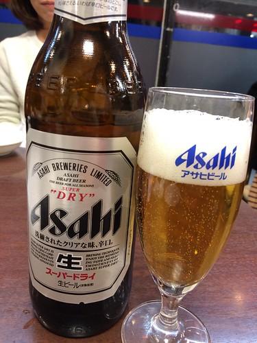 瓶ビール@神洲之華