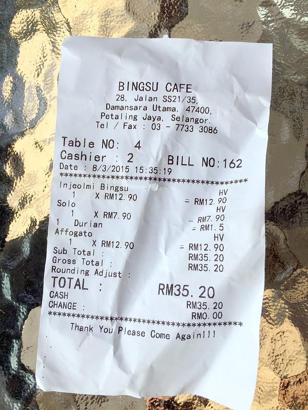 bingsu cafe - uptown damansara 6