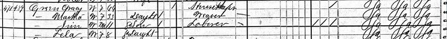 Grace B. Green 1880