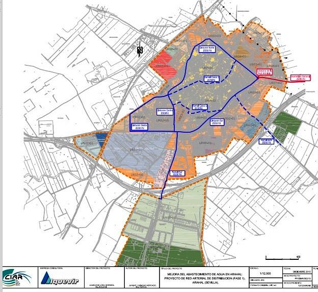 AionSur 16806356838_aaa0da552c_z_d La construcción de un nuevo ramal arterial de tuberías en Arahal garantizará el suministro de agua sin cortes por averías Sin categoría