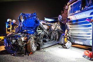 Verkehrsunfall A3 Theißtal-Parkplatz 13.03.15