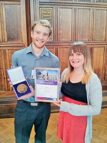 Thomas Pacey - University of Manchester Volunteer of the Year