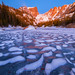 Dream Lake Dimples by Darren White Photography
