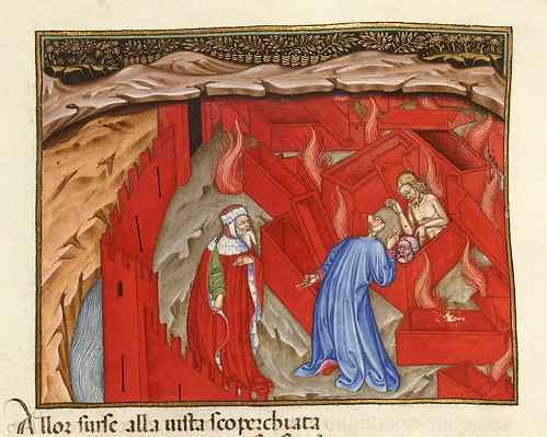 009-Ms 2017- L'Enfer de Dante…1401-1500-Folio 119v- Bibliothèque nationale de France