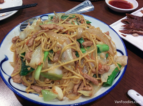Taiwanese Style Stir-Fried Noodles
