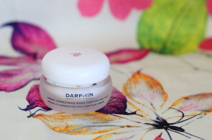 review: Darphin skincare wrinkle corrective eye contour cream