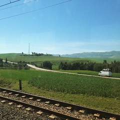 Ohh la la land! #teletubby land #travel by #train to #Fes. I think this is #Meknes area #morocco