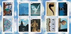 15 MAGRITTE timbres - bis