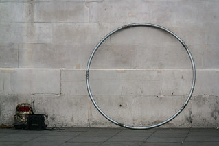 Hoop by a Wall
