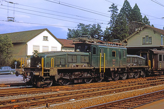 R2714.  Be6/8 II at Thalwil. March,1966.
