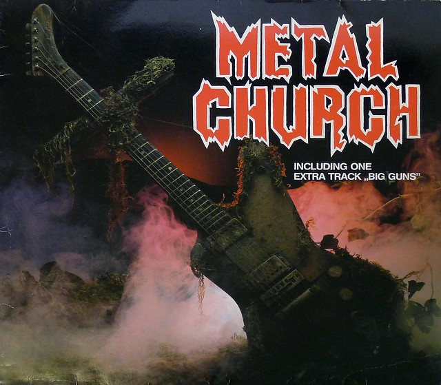 "METAL CHURCH S/T Self-Titled 12"" LP VINYL"
