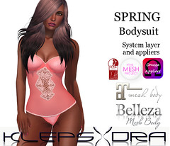 Klepsydra - Spring Bodysuit