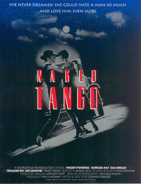Naked Tango Movie Poster