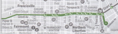 Trolley 15 Map East 2015