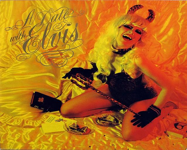"THE CRAMPS A Date With Elvis CUSTOM INNER SLEEVE BIG BEAT 12"" LP VINYL"