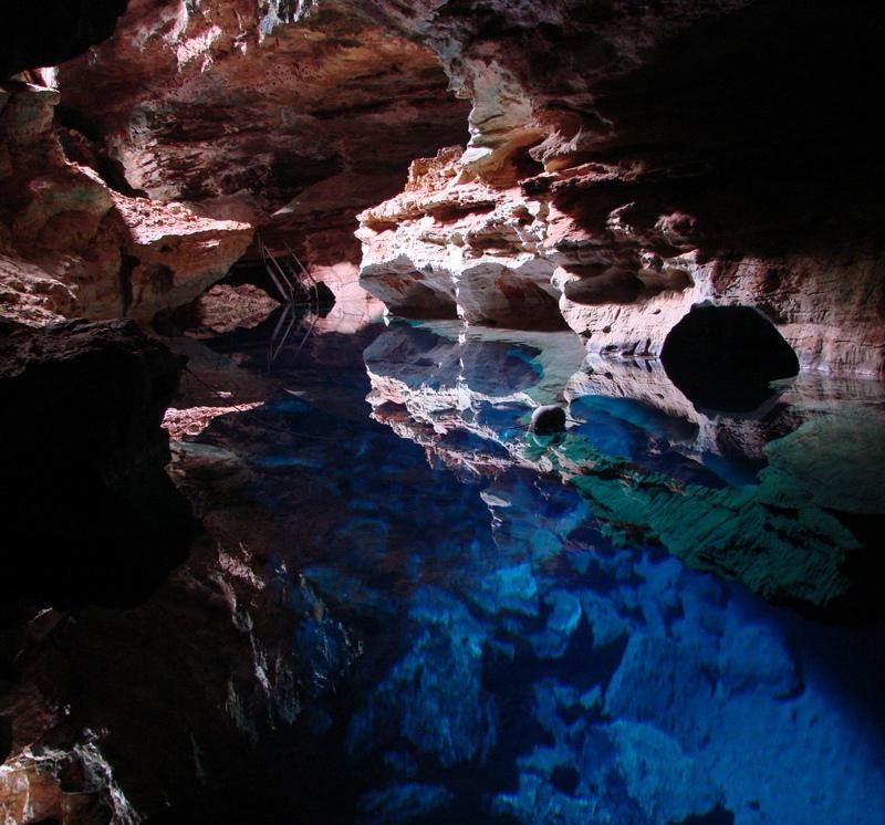 O mistério do poço Azul