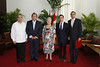 Recibe Gladys Bejerano Portela Credenciales de nuevos embajadores