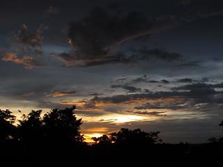 Sunset over Lake Victoria, Uganda