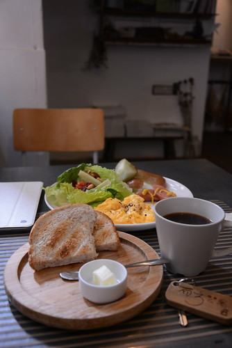 有方公寓朝食