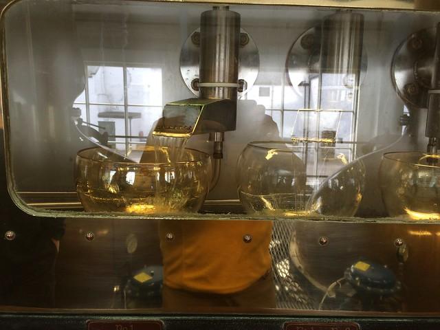 Laphroaig Distillery  spirit safe
