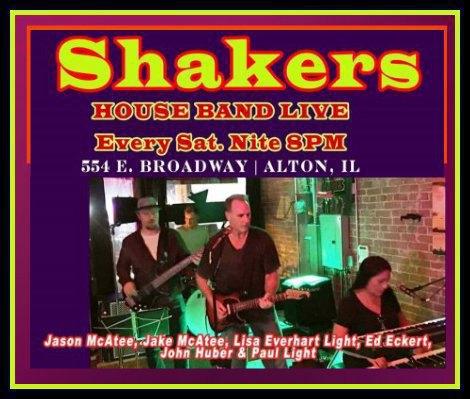 Shakers Saturday Nite 5-14-16